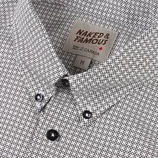 Naked & Famous Regular Shirt Geometric Print