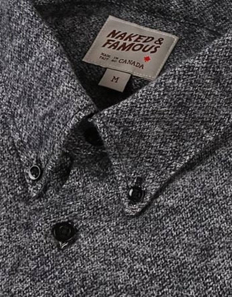 Naked & Famous Long Sleeve Brushed Melange