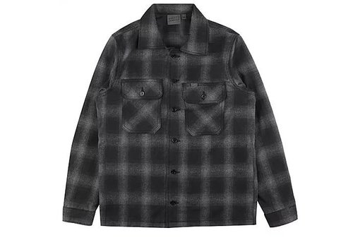 Naked & Famous Lumber Jack Grey Flannel