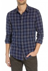 John Varvatos Long Sleeve Button Front Shirt