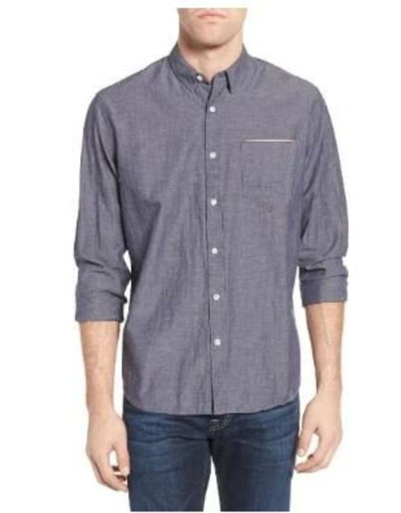 Billy Reid 1 Pocket Shirt