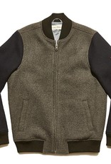 Varsity Wool Bomber