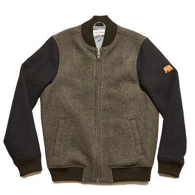 Normal Brand Varsity Wool Bomber