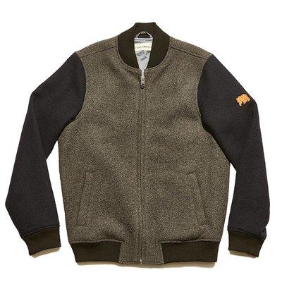 Normal Brand Varsity Wool Bomber