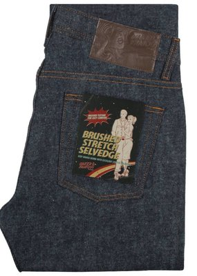 Naked & Famous Naked & Famous Weird Guy Brushed Stretch Selvedge Jean