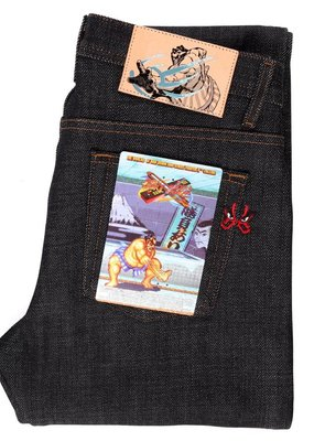 Naked & Famous Naked & Famous Super Guy E Honda Heavyweight Sumo Selvedge Jean