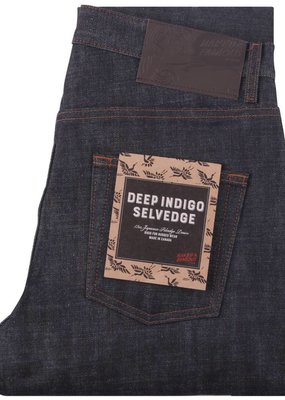 Naked & Famous Weird Guy Deep Indigo Selvedge