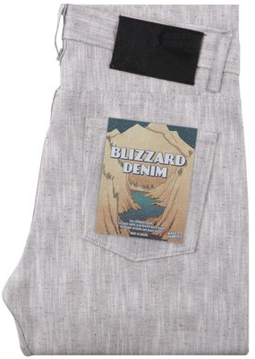 Naked & Famous Naked & Famous Weird Guy Blizzard Denim Jean