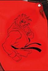 Naked & Famous Naked & Famous Weird Guy Ken Shoryuken Red Selvedge Jean
