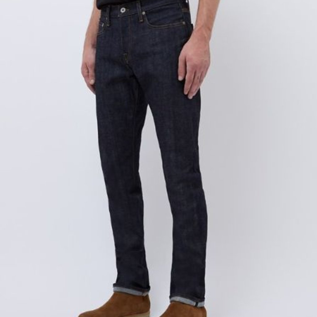 Baldwin Henley Jean Raw  Denim