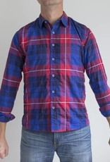 Raleigh Denim Workshop Raleigh Plaid Classic Button Up Shirt