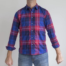 Raleigh Denim Workshop RD Plaid Classic Button Up