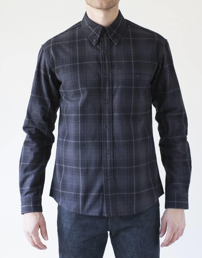 Raleigh Denim Workshop Raleigh Welt Pocket Flannel Shirt