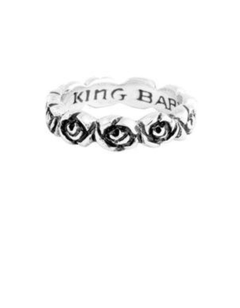 King Baby Baby Rose Infinity Ring