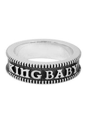 King Baby Coin Edge Stackable Ring