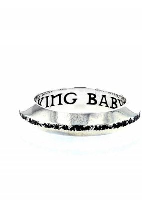 King Baby Chamfered Stackable Ring