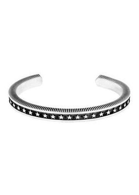 King Baby King Baby Coin Edge Cuff with Stars