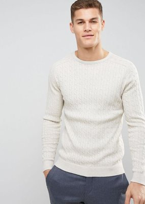 Selected/Homme Crewneck Sweater Cotton/Wool