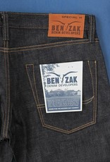 Benzak Denim Development Benzak Special #1 SLIM low tension 14 oz. RHT