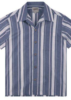 Naked & Famous Naked & Famous Aloha Stripe Shirt