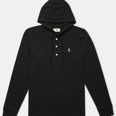 Psycho Bunny Diggle Button Hoodie