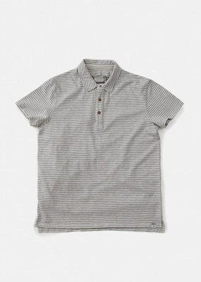 Grayers America Inc. Grey/Blue Stripe Polo