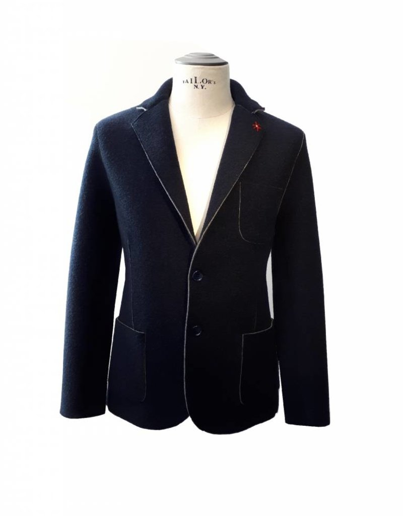 Phil Petter Raw Blazer Navy
