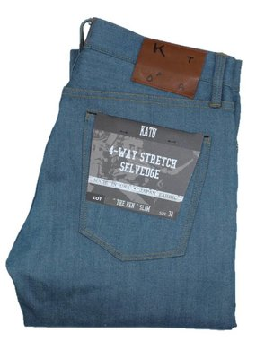 Kato KATO' The Pen Slim Raw 4-Way Selvedge Jean