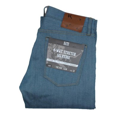 Kato The Pen Slim Raw 4-Way Selvedge