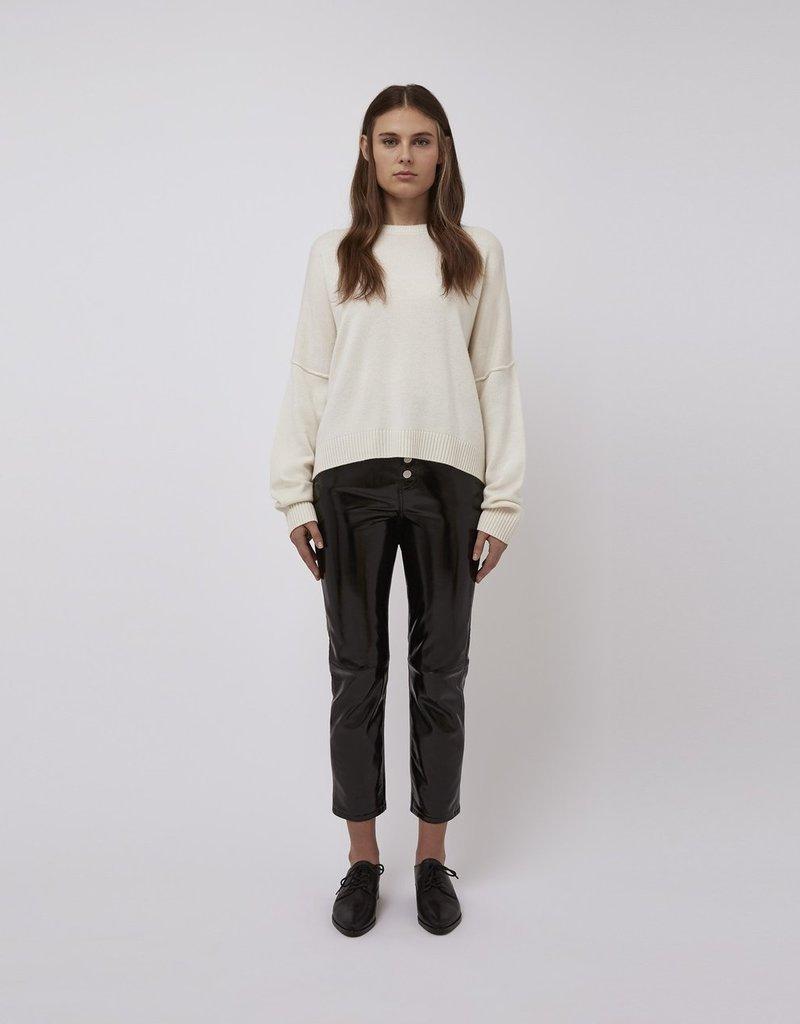 L Baldwin Winslet Cashmere Crew Sweater