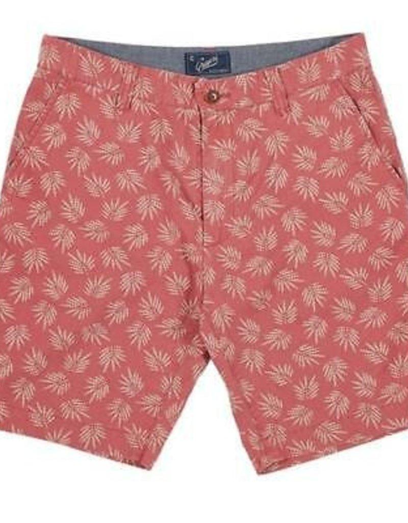 Grayers America Inc. Palm Leaf Short