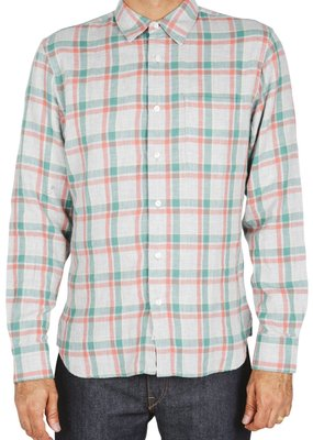 Kato KATO' The Ripper Double Gauze Plaid Shirt