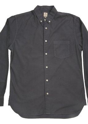 Kato KATO' Tencel Long Sleeve  Slim Button Down Shirt