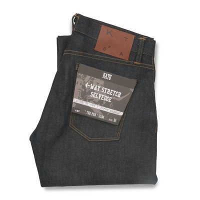 Kato The Pen Slim 4-way Stretch Selvedge