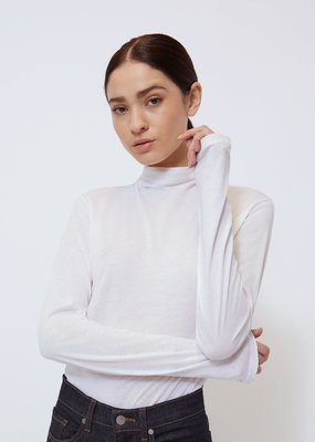 Blair Mock Neck Tee