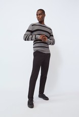 Baldwin Gilpin Melange Stripe Sweater