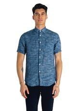 Good Man Brand Short Sleeve On Point  Linen Sport Shirt