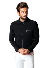 Good Man Brand Tech Twill Knit Moto Jacket