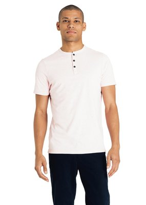 Good Man Brand Good Man Short Sleeve Soft Jersey Henley