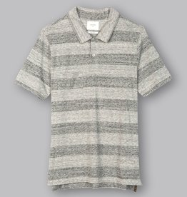 Billy Reid Striped Camp Polo