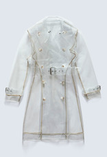 Baldwin Sterling Trench -Clear