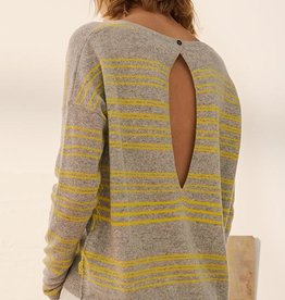 Charli Cashmere Clove Stripe