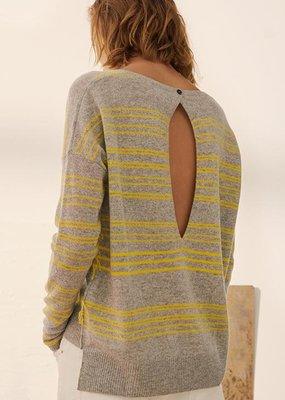 Charli Charli Clove Stripe Cashmere Sweater