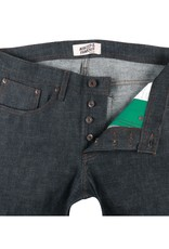 Naked & Famous Weird Guy Green Core Selvedge
