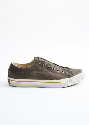 John Varvatos John Varvatos Hand Stained Vulcanized Laceless Low Top