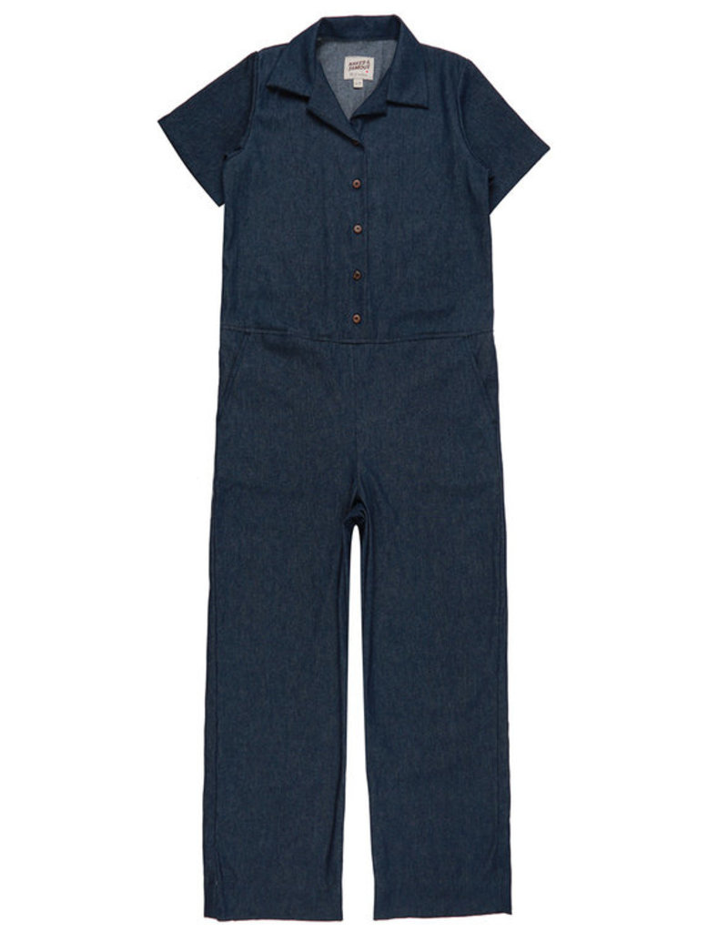 Naked Famous Jumpsuit 7oz.Dark Denim