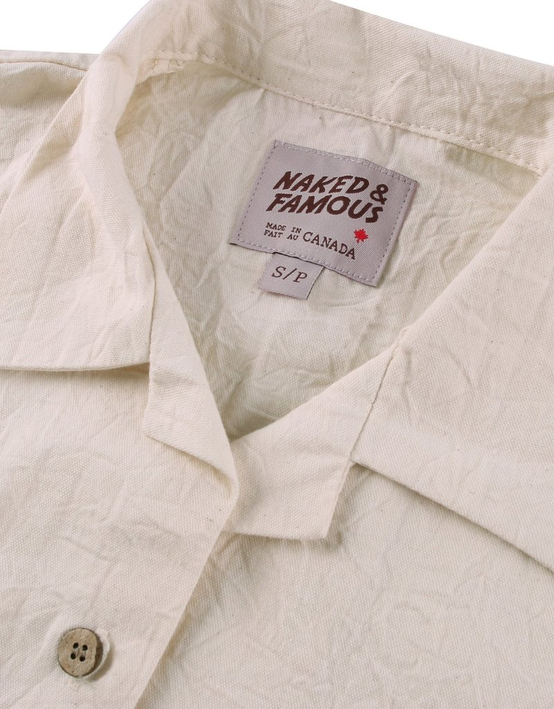 Naked & Famous Jumpsuit Rinsed Oxford