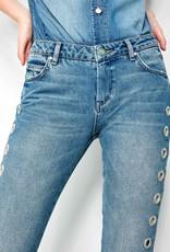 Reiko Straight Crop Jean Preston Holes