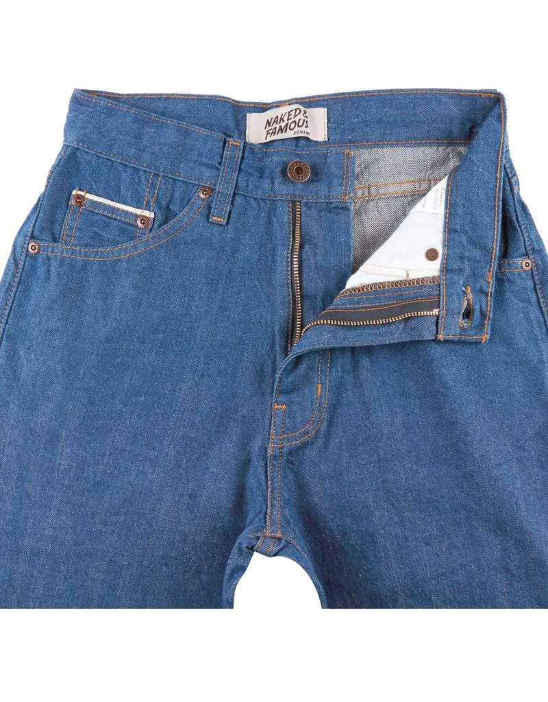 Naked & Famous  Classic Clear Blue Selvedge