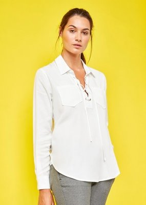 Reiko Caty Lace-up Shirt